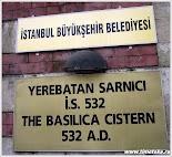 Цистерна Йеребатан. Стамбул.