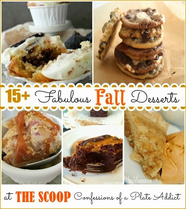 CONFESSIONS OF A PLATE ADDICT 15  Fabulous Fall Desserts