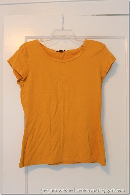 t shirt to skirt refashion