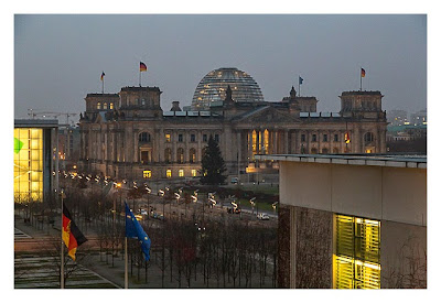 Mit dem Berufsgeocacher ins Bundeskanzleramt - Blick auf den Reichstag
