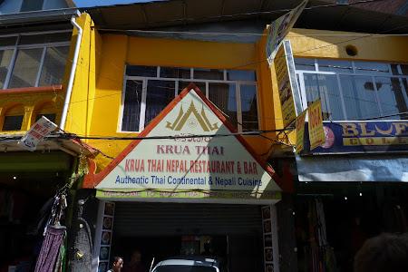 Restaurant Thai si Nepalez in Kathmandu