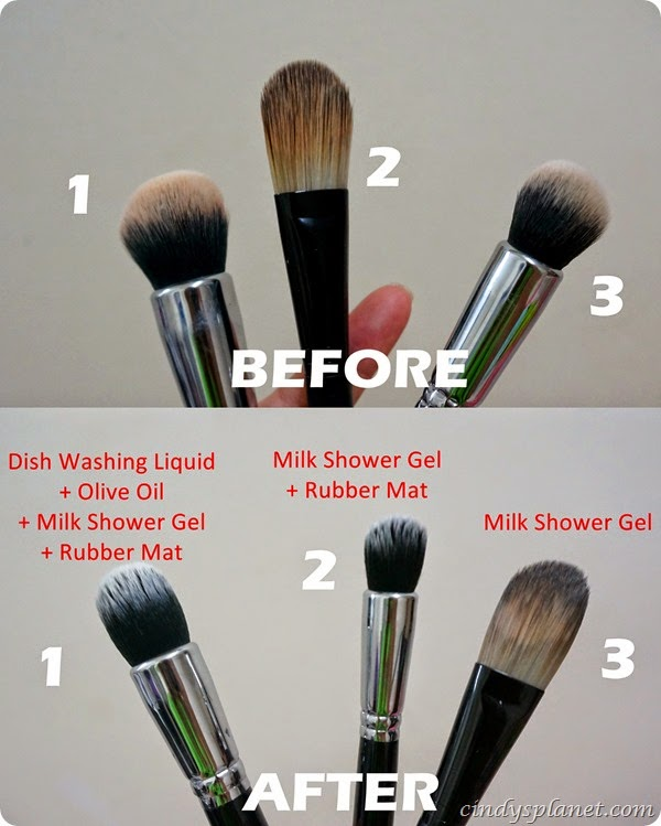 How To Clean Your Makeup Brush The Economical Way Cindy