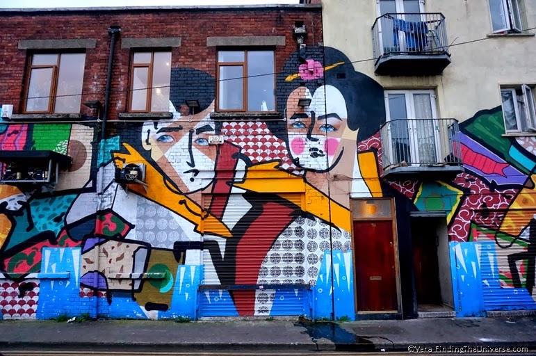 Geisha Mural - Street Art Dublin