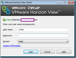 Terence Luk: VMware Horizon View Client takes a long time to