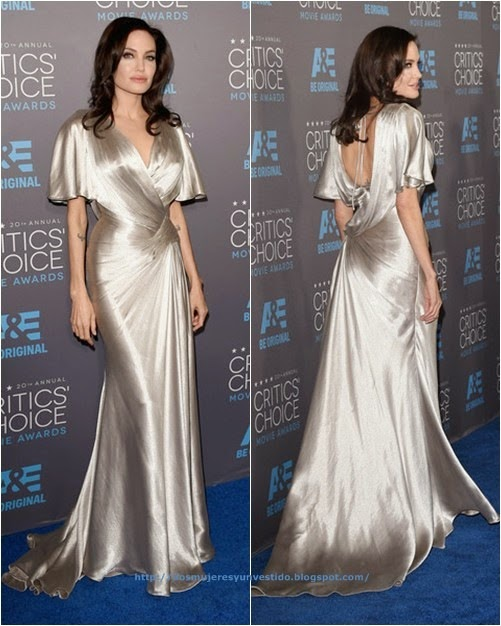 Angelina Jolie attends the 20th annual Critics Choice Movie Awards