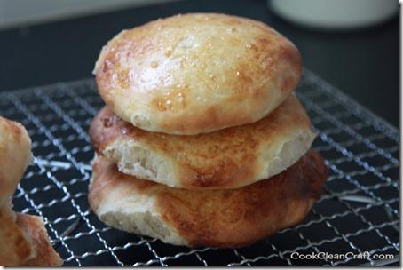 Brioche Hamburger Buns (1)