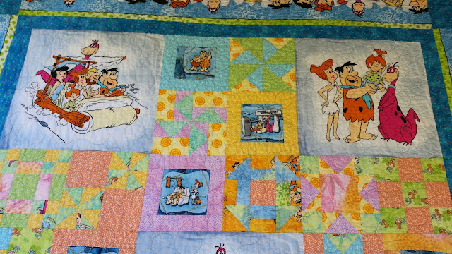 Top of Flintstone's Quilt