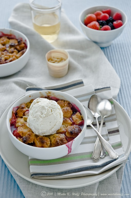 Berry Peach Cobbler (0006) by Meeta K. Wolff
