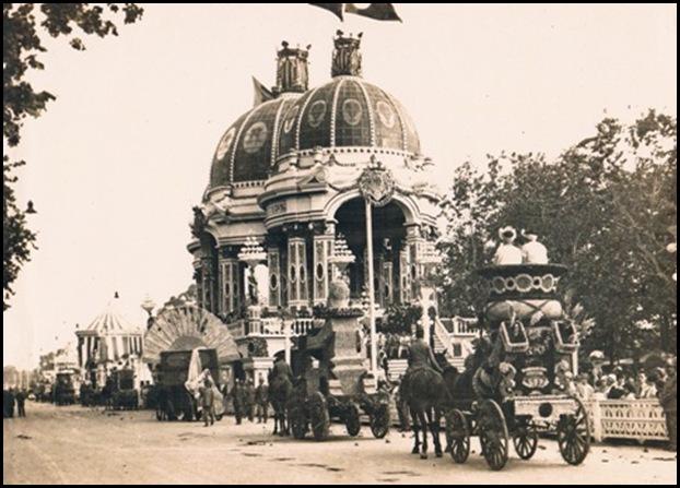 Batalla de Flores. Ca. 1925