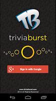 Screenshot of Trivia Burst ( Quiz )