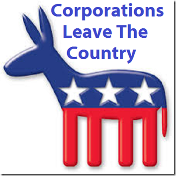 democrats corporations leave