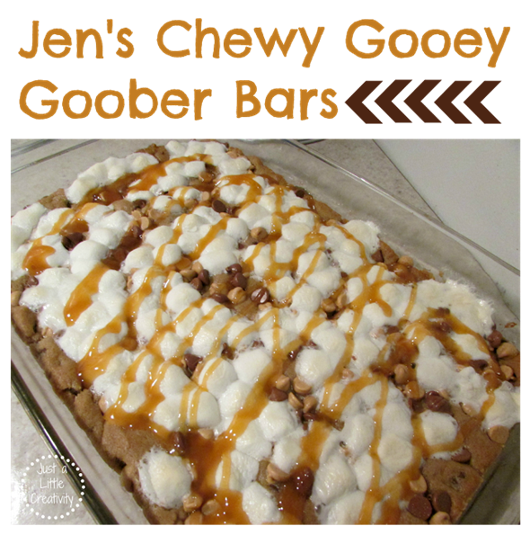 Jens Chewy Goober Bars recipe