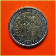 2 Euros España 2005