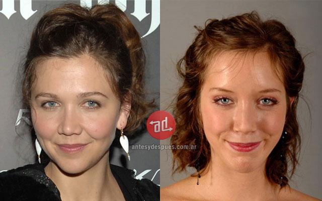El parecido de Sara Giraudeau Maggie Gyllenhaal