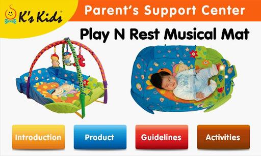 Play N Rest Musical Mat