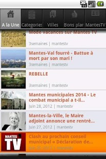 Mantes TV / Info / Actu - screenshot thumbnail