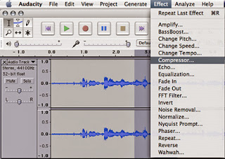 Download Audacity (software audio mp3 editor gratis)
