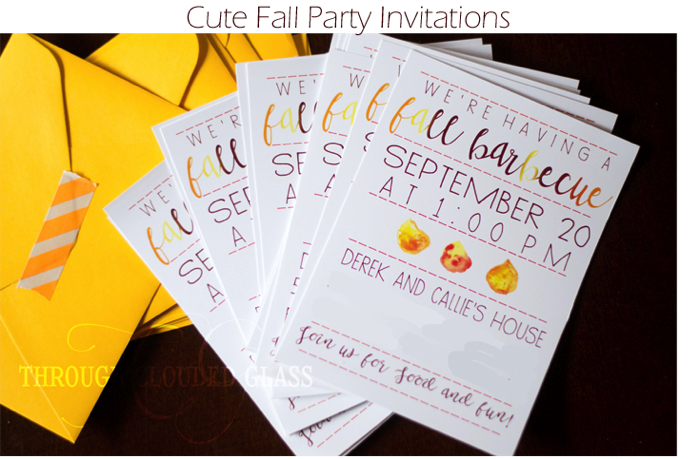 Fallpartyinvitations