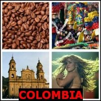 COLOMBIA- Whats The Word Answers