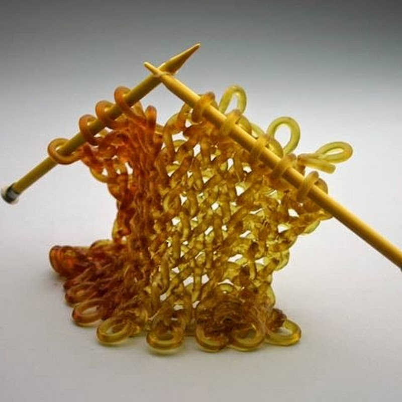 Carol Milne's Knitted Glass