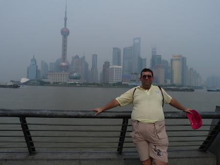 Obiective turistice Shanghai: panorama Pudongului.JPG