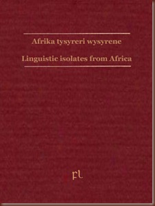 Linguistic isolates from Africa Cover