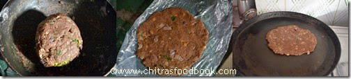 Ragi adai spicy step 3