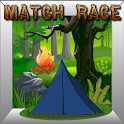 Camping Kids Match Race icon