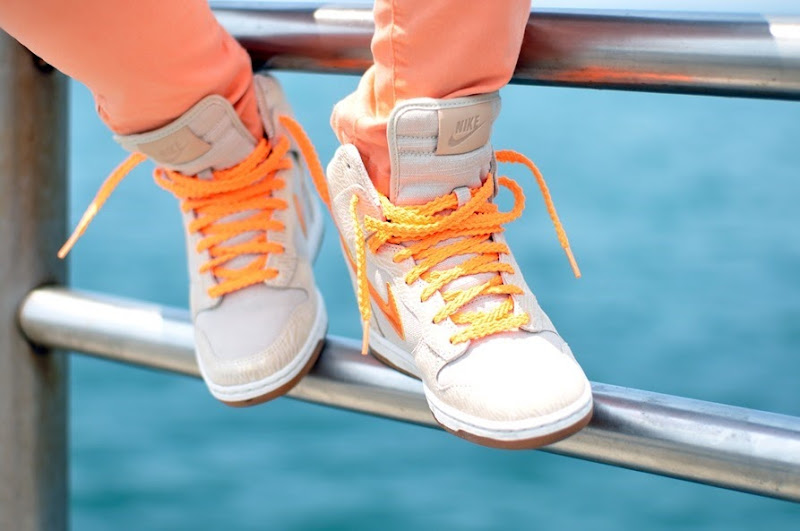 nike, fashion bloggers, nike con zeppa, Nike Dunk Sky Hi, comfy look