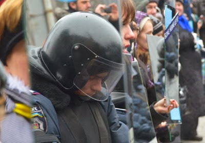 Ukraine-police-in-mirror