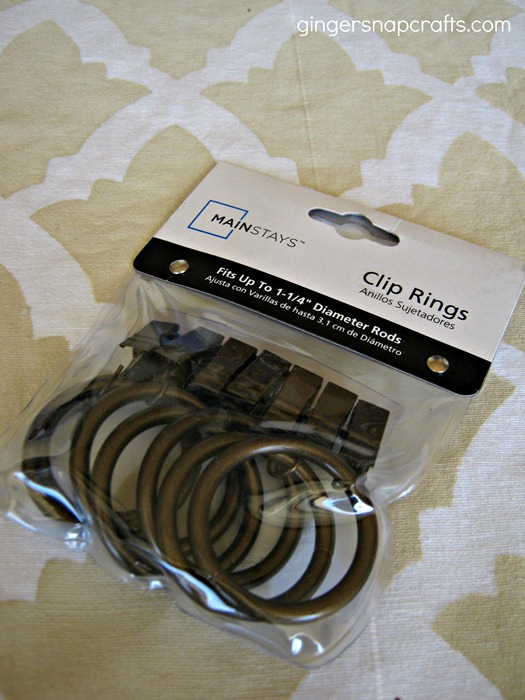 stencil curtain clips