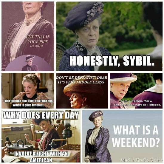 dowager countess for the win