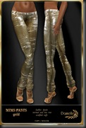 DANIELLE Mims Pants Gold'