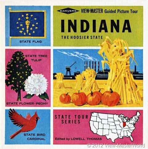 View-Master Indiana (A570), Booklet Cover