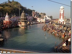 Canal of the Ganga at Haridwar
