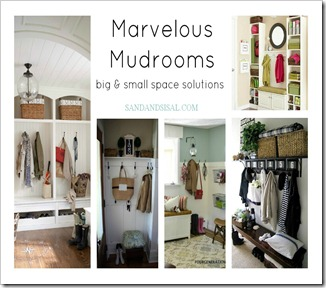 Mudrooms - big & small space solutions