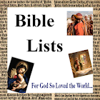 Bible Lists # 1 icon