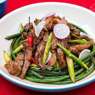 Sichuan Beef Lettuce Wraps