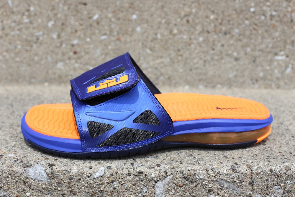 Best Nike Air Lebron 2 Slide Elite Flops Hyper Blue Bright Citru