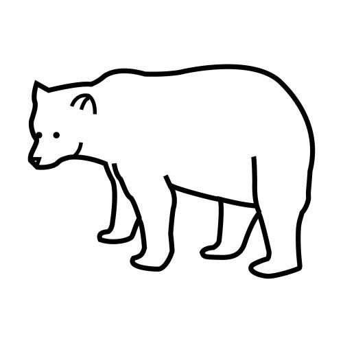 Dibujos Para Colorear Osos Polares