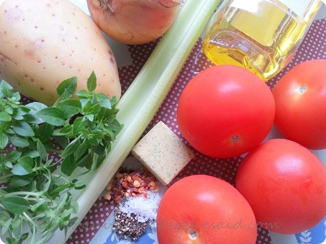 Chunky tomato soup recipe ingredients