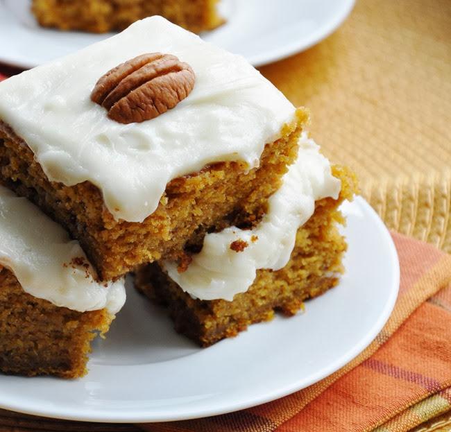 pumpkin cake bars reduced-fat 097