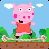 Peppie Pig Flying Saga