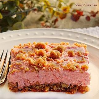 Frozen Strawberry Dessert.