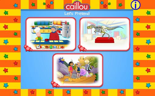 【免費教育App】Caillou Let's Pretend-APP點子
