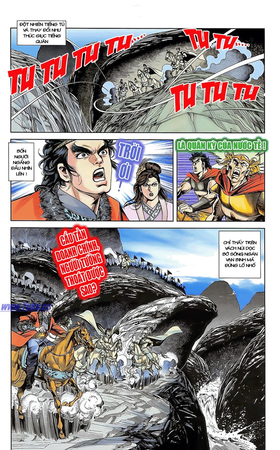 Tần Vương Doanh Chính chapter 12 trang 27