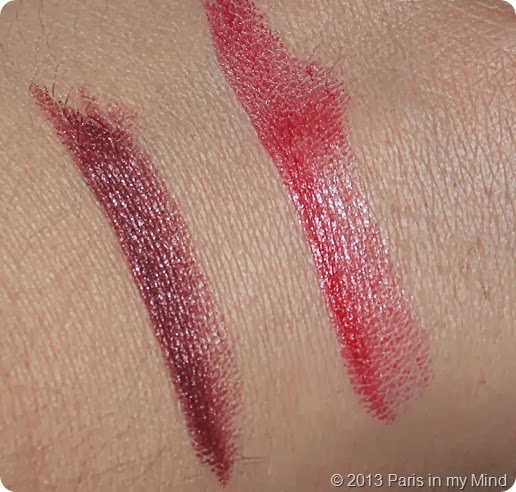 Swatches Lippenstift