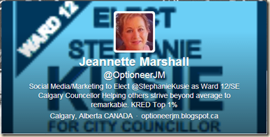 Jeanette Marshall bio after Kusie said she didn't speak for her or campaign
