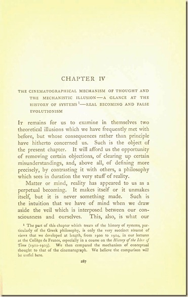 Bergson. Creative Evolution. 1911 creativeevolutio00berguof.test.t_Page_301