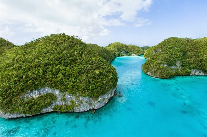 Where Is Rock Islands Palau